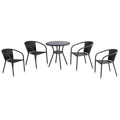 Набор мебели Кафе (стол, 4 кресла)