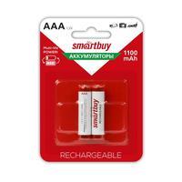 Аккумуляторные батарейки Smartbuy AAA 2BL 2 штуки (1100 мАч, Ni-Mh)