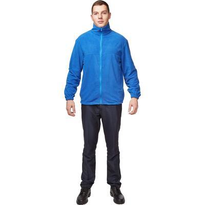 Толстовка флисовая синяя размер S (40-42)