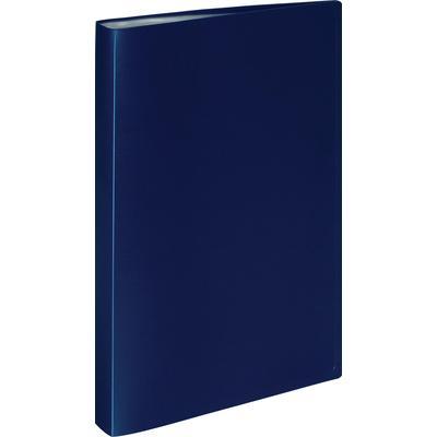 Папка файловая на 30 файлов Attache A4 20 мм синяя (толщина обложки 0.4 мм)