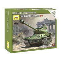 Сборная модель Звезда Советский тяжелый танк Ис-2