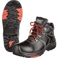 Ботинки утепленные Flagman-Нитро натуральная кожа черные с композитным подноском размер 44