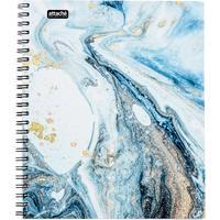 Бизнес-тетрадь Attache Selection Fluid А5 96 листов серая/голубая в клетку на спирали (170х203 мм)