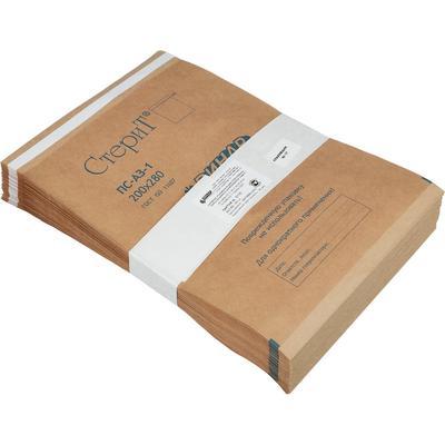 Пакет для стерилизации Винар Стерит для паровой/воздушной/газовой/радиационной стерилизации 200х280 мм (100 штук в упаковке)