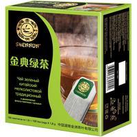 Чай Shennun зеленый традиционный  100 пакетиков