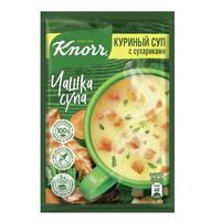 Суп Knorr куриный с сухариками 30 штук по 16 г
