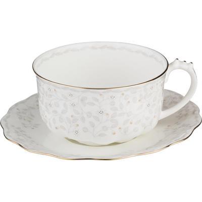 Чайная пара Lefard Вивьен 400 мл фарфор