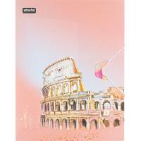 Папка на резинке Attache Selection Travel Italy А4+ 18 мм пластиковая до 200 листов (толщина обложки 0.55 мм)