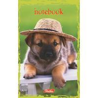Блокнот детский Собачки 48 листов А7 склейка (в ассортименте)