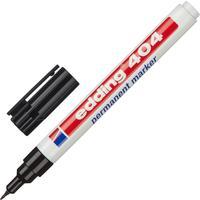 Маркер перманентный Edding E-404/1 черный (толщина линии 0,75 мм) круглый наконечник