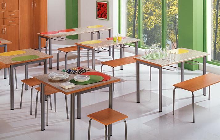Мебель для школьных столовых