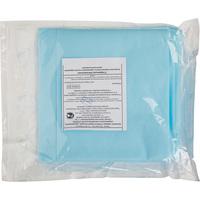 Простыня одноразовая Гекса Иволга стерильная 200x140 см спанбонд (голубая, плотность 42 г)