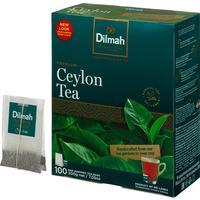 Чай Dilmah Цейлонский черный 100 пакетиков