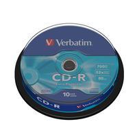 Диск CD-R Verbatim Extra Protection 700 Mb 52x (10 штук в упаковке Cake Box)