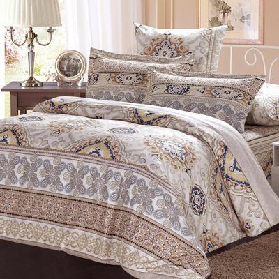 Постельное белье СайлиД A-164 (2-спальное с европростыней, 2 наволочки 70х70 см, поплин)