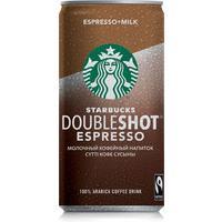 Молочный кофейный напиток Starbucks Doubleshot Espresso 2.6% 200 мл