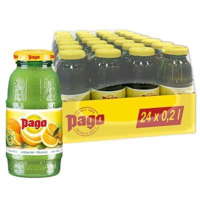 Сок Pago апельсин 0.2 л (24 штуки в упаковке)