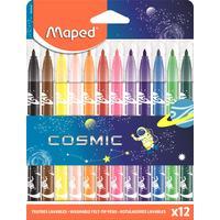 Фломастеры Maped Color'peps jungle cosmic 12 цветов