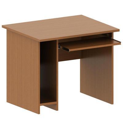 Стол компьютерный К_Арго A-012 (орех, 900х730х760 мм)