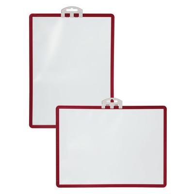 Информационная демо-панель настенная А4 Durable 5613 горизонтальная/вертикальная с креплением (5 штук в упаковке)