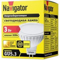 Лампа светодиодная Navigator NLL-MR16-3-230-3K-GU5.3 3 Вт 3000К GU5.3 (94255)