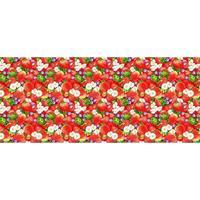 Полотенце вафельное Клубничное настроение 45х60 см 10 штук в упаковке