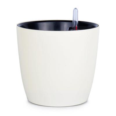 Горшок для цветов с автополивом Комфорт белый 3.5 л