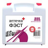 Аптечка первой помощи офисная ФЭСТ № 1 (бокс пластиковый)