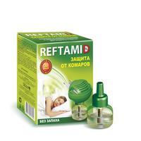 Средство от насекомых Рефтамид от комаров жидкость 20 мл + фумигатор