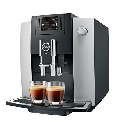 Кофемашина JURA E6 Platin (EB)