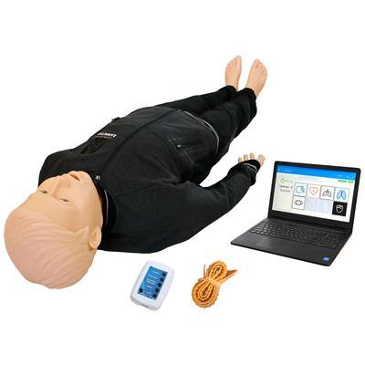 Тренажер робот Гриша-08 для обучения навыкам СЛР с симуляционным режимом ранения бедренной артерии и персональным компьютером