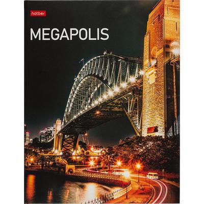 Тетрадь на кольцах Hatber Megapolis А5 240 листов в клетку