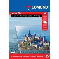 Пленка для проекторов Lomond прозрачная А4 (10 листов в упаковке, артикул производителя 708411)