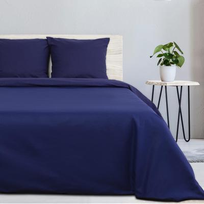 Постельное белье Этель Синяя пыль (1.5-спальное, 2 наволочки 70x70 см, поплин)