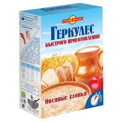 Каша Русский продукт Геркулес быстрого приготовления 420 г