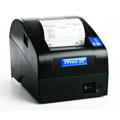 Фискальный регистратор Атол FPrint-22ПТК без фискального накопителя черный