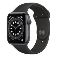 Смарт-часы Apple Watch Series 6 черные (M00H3RU/A)