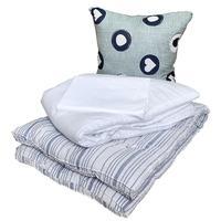 Набор 1.5-спальный (одеяло 140x205 см, подушка 70x70 см, матрас 80x190  см, комплект постельного белья)