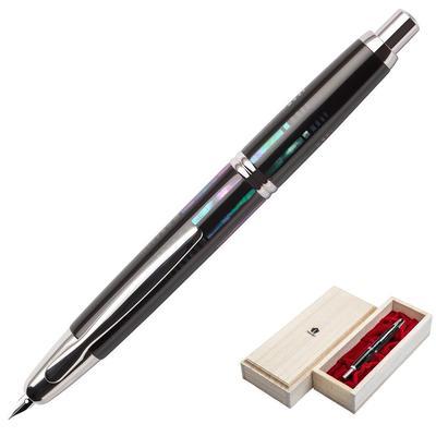 Ручка перьевая Namiki Capless Water surface цвет чернил черный цвет корпуса черный
