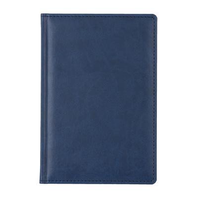 Ежедневник датированный на 2019 год Attache Сиам искусственная кожа А5 180 листов синий (143x210 мм)
