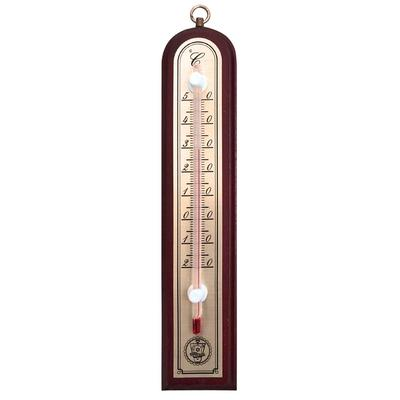 Термометр комнатный деревянный 188x39 мм (без ртути)