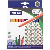 Фломастеры Milan 24 цвета