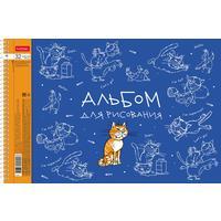 Альбом для рисования Hatber Забавные животные А4 32 листа