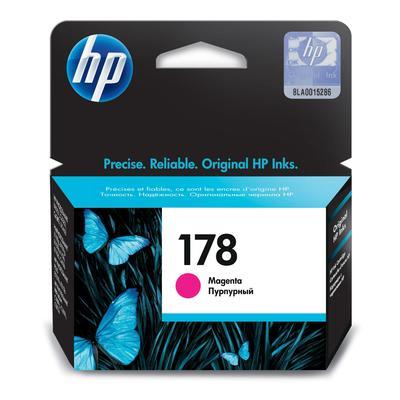 Картридж струйный HP 178 CB319HE пурпурный оригинальный