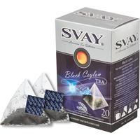 Чай Svay Black Ceylon черный 20 пакетиков
