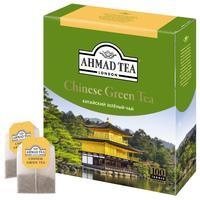 Чай Ahmad Tea китайский зеленый 100 пакетиков