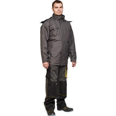Куртка рабочая демисезонная мужская Delta Plus серая (размер 46-48, рост 164-172)