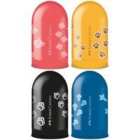 Точилка Faber-Castell Jelly с контейнером в ассортименте