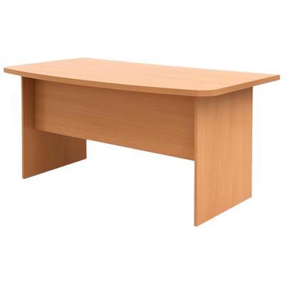 Стол руководителя письменный Эталон (бук бавария, 1800x860x750 мм)