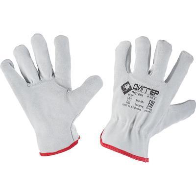 Перчатки рабочие Диггер цельноспилковые (размер 10,5)